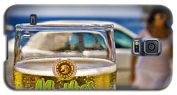 Greek Beer Goggles Galaxy S5 Case by Meirion Matthias
