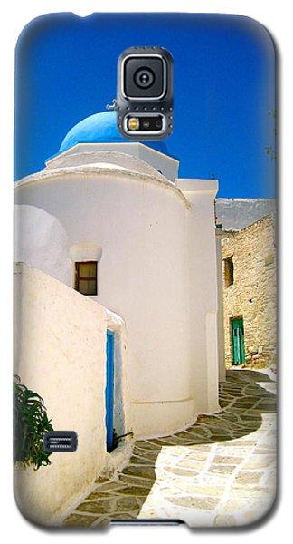 School Galaxy S5 Case - Greek Blue  by Emma  Heidemann
