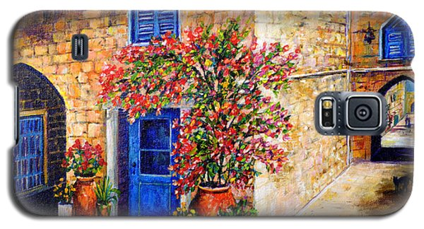 Greek Bouganvillia Galaxy S5 Case by Lou Ann Bagnall