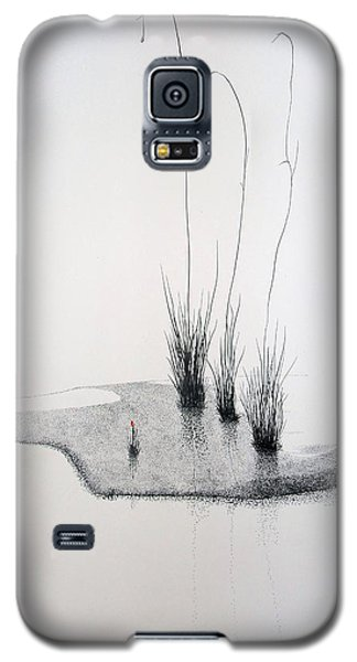 Galaxy S5 Case featuring the painting Greek Chorus by A  Robert Malcom
