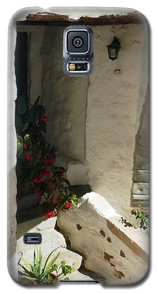 Galaxy S5 Case featuring the photograph Greek Entrance by Therese Alcorn