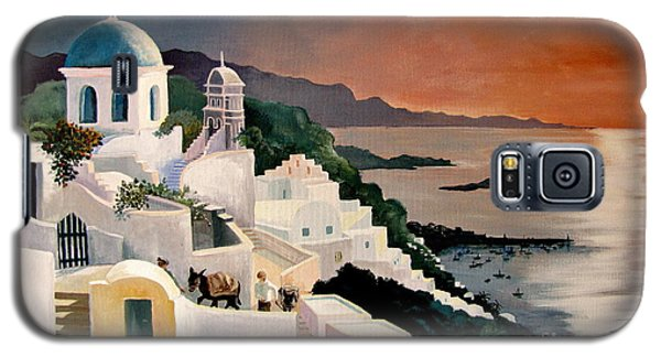 Greek Isles Galaxy S5 Case