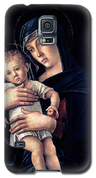 Galaxy S5 Case featuring the painting Greek Madonna With Child 1464 Giovanni Bellini by Karon Melillo DeVega