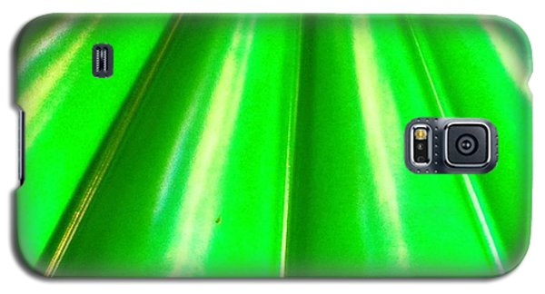 Green Abstract Galaxy S5 Case by Christy Beckwith