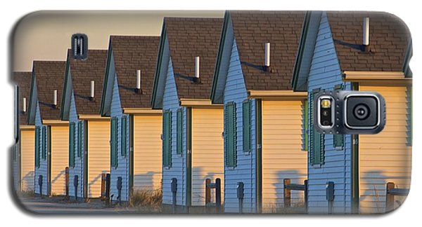 Green And White Cottages Of Truro Galaxy S5 Case