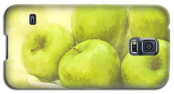 Green Apples Galaxy S5 Case by Linda Blair