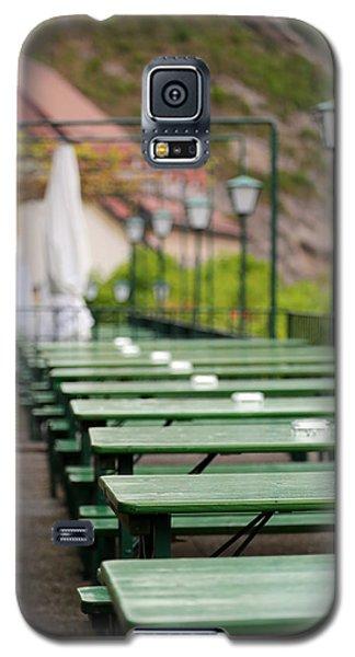 Green Beer Garden  Galaxy S5 Case