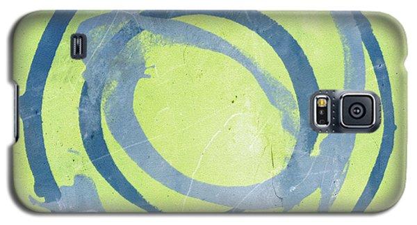 Green Blue Galaxy S5 Case by Julie Niemela