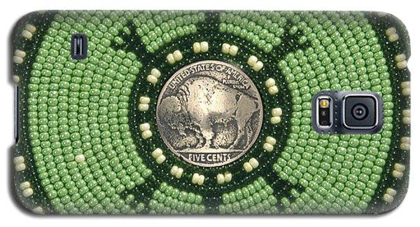 Green Buffalo Turtle Galaxy S5 Case