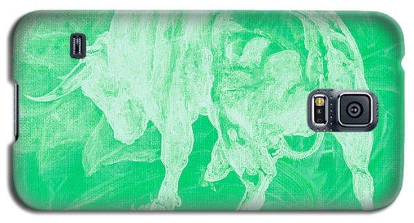 Green Bull Negative Galaxy S5 Case