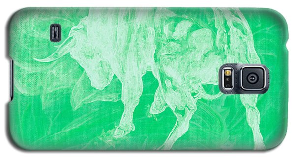 Green Bull Negative Galaxy S5 Case