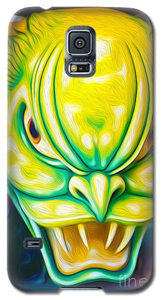 Green Demon Galaxy S5 Case by Gregory Dyer