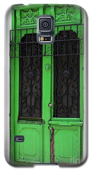 Green Door In Bogota Galaxy S5 Case