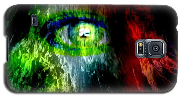 Green Eyed Galaxy S5 Case