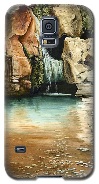 Green Falls II Galaxy S5 Case