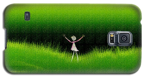 Green Field Galaxy S5 Case by Asok Mukhopadhyay