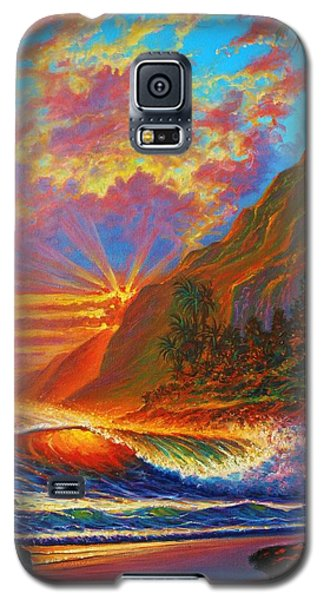 Green Flash Galaxy S5 Case