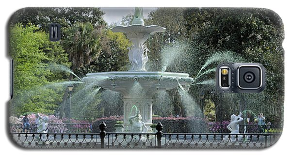 Green Forsyth Park Fountain Galaxy S5 Case