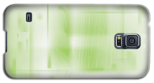 Green Ghost City Galaxy S5 Case
