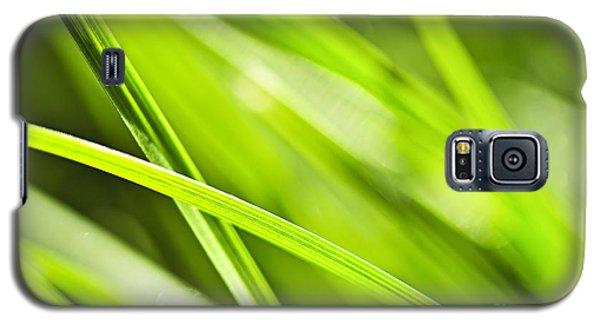 Green Grass Abstract Galaxy S5 Case