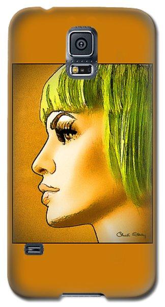 Green Hair Galaxy S5 Case
