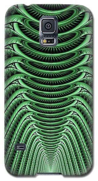 Green Hall Galaxy S5 Case by Anastasiya Malakhova