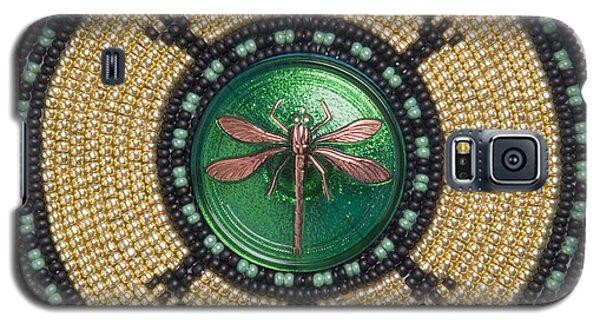 Green Jewel Dragonfly Turtle Galaxy S5 Case