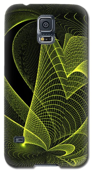 Galaxy S5 Case featuring the digital art Green by Judy  Johnson