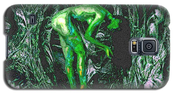 Gaia Earthly Goddess Nymph Farie Mother Earth Fine Art Print Galaxy S5 Case by David Mckinney