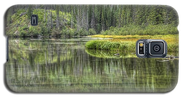 Green Lake Galaxy S5 Case by Wanda Krack