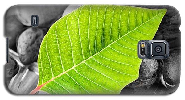 Green Leaf Galaxy S5 Case