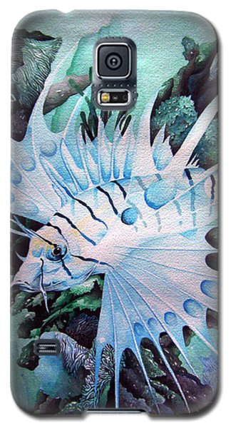 Green Lionfish Galaxy S5 Case