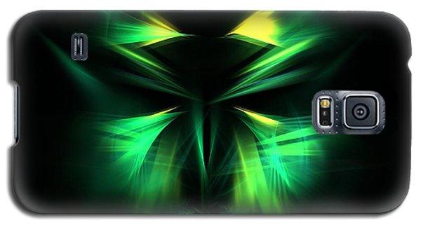 Green Man Galaxy S5 Case by Kim Sy Ok