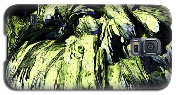 Galaxy S5 Case featuring the digital art Green by Matt Lindley