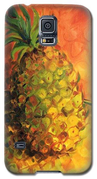Green Orange Pineapple Galaxy S5 Case