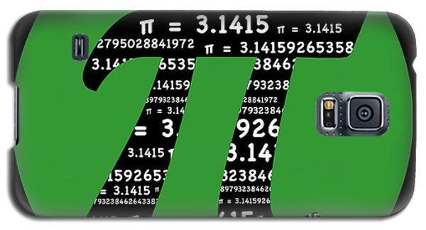 Green Pi Galaxy S5 Case by Marianne Campolongo