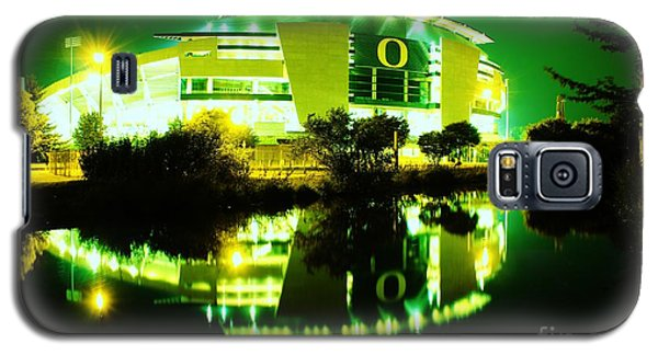 Green Power- Autzen At Night Galaxy S5 Case