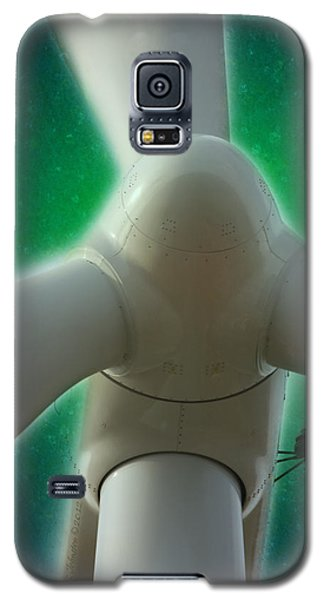 Galaxy S5 Case featuring the photograph Green Power by WB Johnston