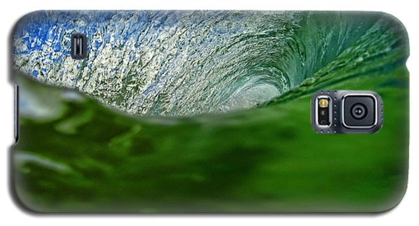 Green Room Wave Galaxy S5 Case