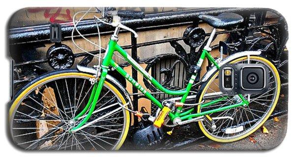 Green Schwinn Bike  Nyc Galaxy S5 Case