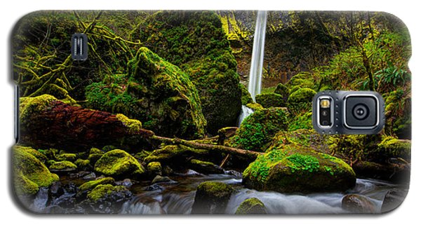 Green Seasons Galaxy S5 Case by Chad Dutson