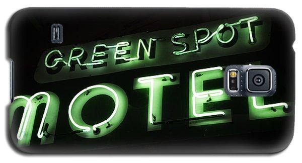 Green Spot Motel Galaxy S5 Case