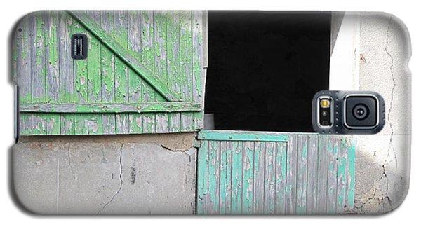 Green Stable Door Galaxy S5 Case