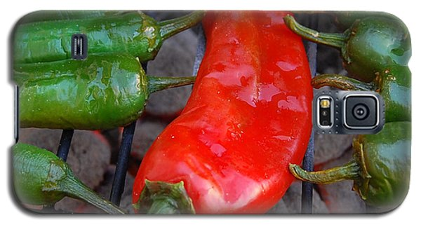 Green To Red Galaxy S5 Case by Steven Milner