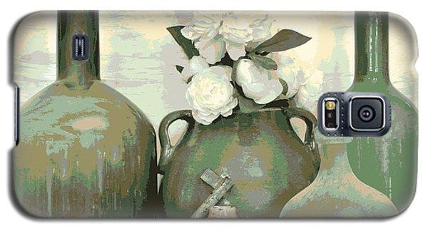 Green Vases Still Life Galaxy S5 Case
