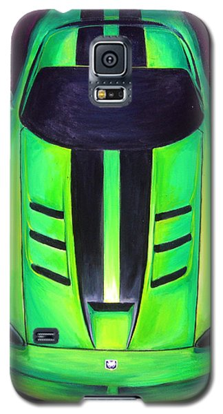 Green Viper Galaxy S5 Case by Sheri  Chakamian