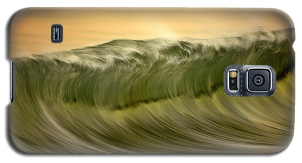 Green Wave #2  C6j7496 Galaxy S5 Case
