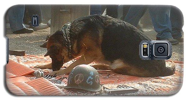 Greenpeace Dog Galaxy S5 Case