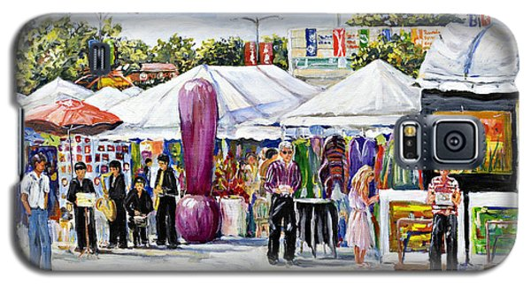 Greenwich Art Fair Galaxy S5 Case