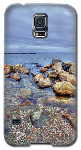 Galaxy S5 Case featuring the photograph Greenwich Bay by Alex Grichenko